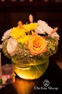 Decor nunta cu hortensii (1)
