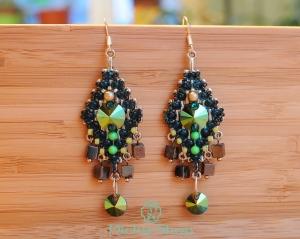 cercei-candelabru-verde-2